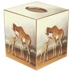 TB203-Giraffe Tissue Box Cover