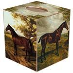 TB220 - Horses Tissue Box Cover