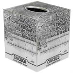 TB2478 - Chicago Map Tissue Box Cover