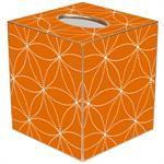 TB2518 - Daisy Dot Orange Tissue Box Cover