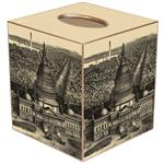 TB2606 - View of Washington D.C. Antique Map Tissue Box Cover