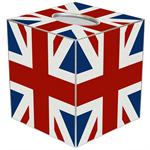 TB2608 - Union Jack Tissue Box Cover