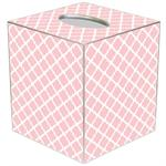 TB2612 - Chelsea Pink Tissue Box Cover