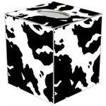 TB2624 - Cow Print Tissue Box Cover