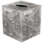 TB2636 - Firenze Map Tissue Box Cover