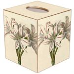 TB2652 - Antique Lilies Tissue box Cover