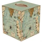 TB2743- Fort Sumter, South Carolina Antique Map Tissue Box Cover