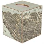 TB2745- Charleston, South Carolina View from Above Antique Map Tissue Box Cover