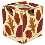 TB2793- Fall Leaves Tissue Box Cover