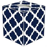 TB2859 - Navy Chelsea Grande Tissue Box Cover