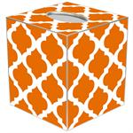 TB2864 - Orange Chelsea Grande Tissue Box Cover