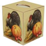 TB2894 - Thanksgivng Turkey Tissue Box Cover