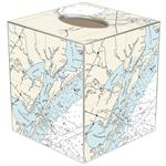 TB2897-Rockport Texas Tissue Box Cover