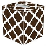 TB2902 - Chelsea Grande Brown Tissue Box Cover