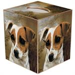 TB292-Jack Russell Terrier Tissue Box Cover