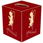 TB2960 - A Valentine Red Tissue Box Cover