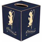 TB2961 - A Valentine Navy Tissue Box Cover
