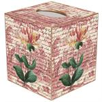 TB297 - Lily on Rose Toils Tissue Box Cover
