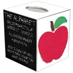 TB2972-Chalkboard Teacher Tissue Box Cover