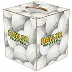 TB3127-Baylor Volleyball Tissue Box Cover