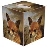 TB387-Chihuahua Tissue Box Cover
