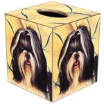 TB412-Shih Tzu Tissue Box Cover