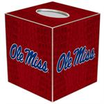 Ole Miss Tissue Box Covers