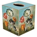 TB416-Tulips Tissue Box Cover