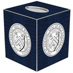 TB4603-Rice University Tissue Box Cover