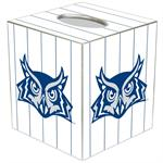 TB4610-Rice University Tissue Box Cover