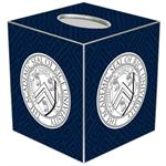 TB4614-Rice University Tissue Box Cover