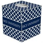 TB4615-Rice University Tissue Box Cover