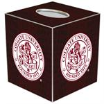 Colgate University Tissue Box Covers