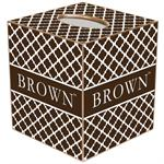 Brown University Tissue Box Covers
