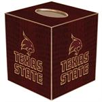 Texas State University Tissue Box Covers