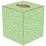 TB598-Green Daisy Tissue Box Cover