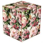 TB618-Roses Tissue Box Cover