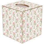 TB631 - Rose Stripe Tissue Box Cover