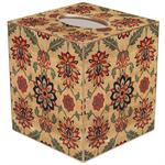 TB674 - Antique Textile Tissue Box Cover