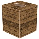 TB8264-Shiplap Wood Tissue Box Cover