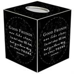 TB8312-Good Friends Tissue Box Cover