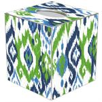 TB8408 - Seaside Ikat Tissue Box Cover