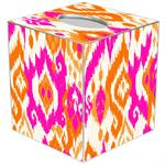 TB8409 - Sunrise Ikat Tissue Box Cover