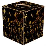 TB8440 -Tortoise Shell Tissue Box Cover