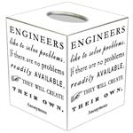 TB8558-Engineers Like To Solve Problems Tissue Box Cover