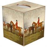 TB8604-The Hunt Tissue Box Cover