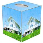 TB8672 - Block Island Club Tissue Box Cover
