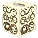 TB870-Seth's Snakes Tissue Box Cover
