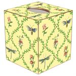 TB875-Bugs & Blooms Tissue Box Cover