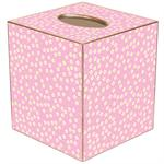 TB877-Pink & Yellow Daisy Tissue Box Cover